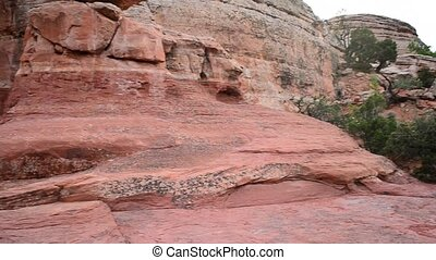 Broken Arch in Arches National Park - Broken Arch near...
