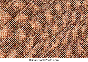 Burlap texture - Closeup of a natural burlap texture as the...