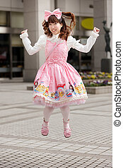 Happy japanese lolita - Happy japanese sweet lolita cosplay...