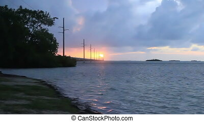 Dawn in the Florida Keys USA nature scenic ocean view