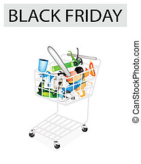 Craft Tools in Black Friday Shopping Cart