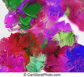 oil paint textures on canvas - multicolor oil paint textures...