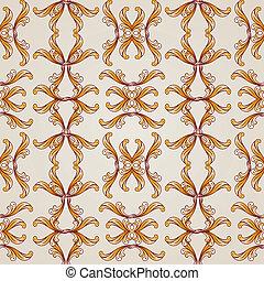 Brown-beige seamless vector background, EPS10