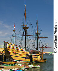 Mayflower Reproduction - Recreation of the original...