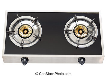 gas stove the necessary kitchenware - New gas stove the...