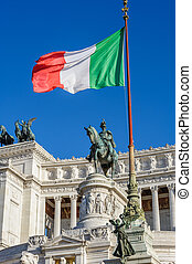 Monument of Vittorio Emanuele II in Rome - Monument of...