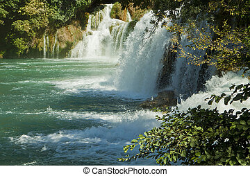 Krka waterfalls, Croatia Krka National park - Krka...