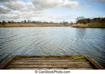 Dock lake - Old Dock on the Lake