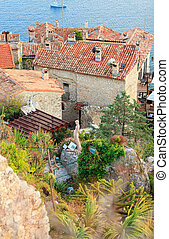 Exotic garden in Eze village