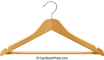 Clothes hanger - Clothes wooden hanger for jackets pants...