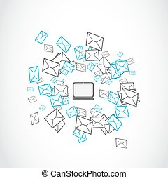 email mailing concept