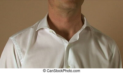 Tailor Neck Measuring - Tailor measuring different parts or...