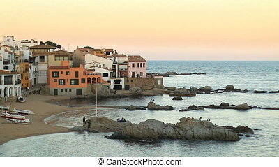 Mediterranean Fishing Village at Du - Picturesque...