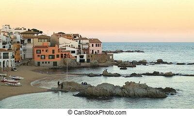 Mediterranean Fishing Village at Du - Picturesque...