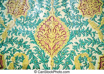Oriental ornament - Tiled background, oriental ornament...