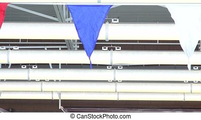 Streamers, Indoor Pool - A close up shot of streamers that...
