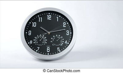 Clock Fast Time Lapse - Clock ticking accelerated time High...