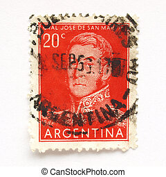 Argentine stamp - Stamp from the Argentine Republic (South...