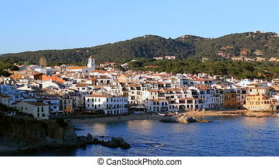 Mediterranean Fishing Village Panor - Picturesque...