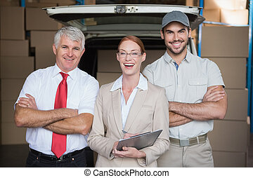 Warehouse managers and delivery