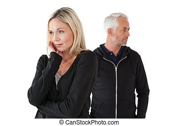Mature couple having relationship problems