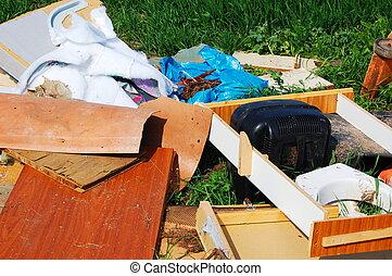 Lixo, poluição