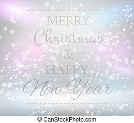Christmas background with text