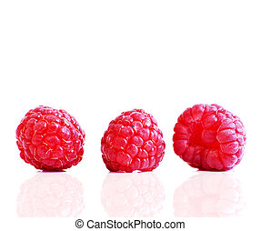 rasberry - three rasberry in a row