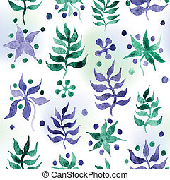 Watercolor background - Vector artistic watercolor...
