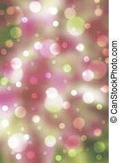 Festive background with defocused lights, Abstract bright