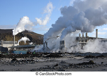 Svartsengi Geothermal Power Station - Iceland - The...