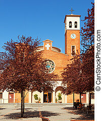 Parish Church of Sant Adria. Spain - Parish Church of Sant...