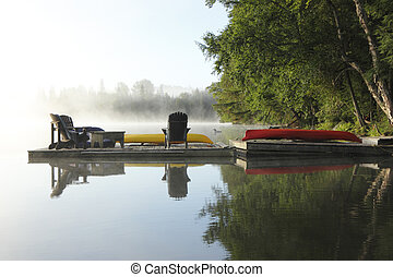 Misty Morning - Haliburton, Ontario, Canada