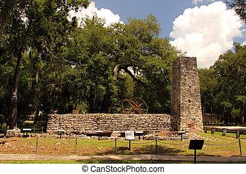 Sugar Mill Ruins - Yulee Sugar Mill Ruins Historic State...