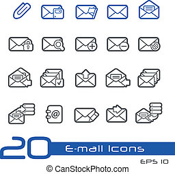 E-mail Icons // Line-Series