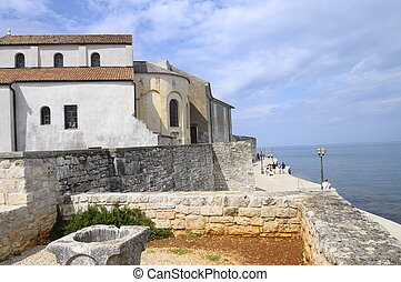 Village of Porec, Croatia - Village of Porec and euphrasian...