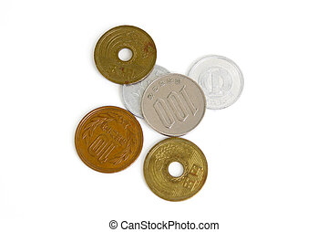 Japanese yen coins - Japanese yen notes Currency of Japan...
