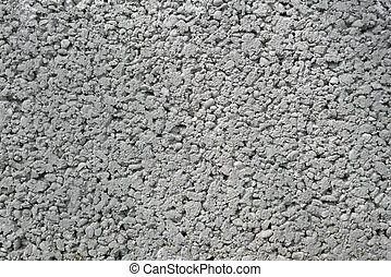 Gray concrete texture Large grain and interstices
