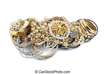 oro, diamantes