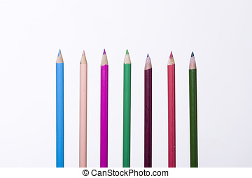Assorted colored pencils 1.