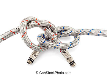 partnership hose concepts isolated on white background