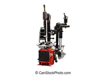 Tyre fitting machine - image of tyre fitting machine