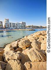 espagne,  torrevieja, plage,  Alicante,  malecom