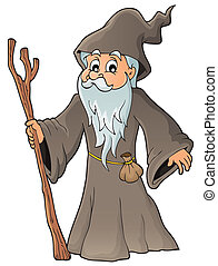 Druid theme image 1 - eps10 vector illustration.