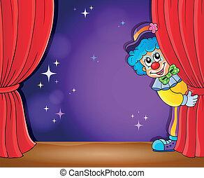 Clown thematics image 2 - eps10 vector illustration