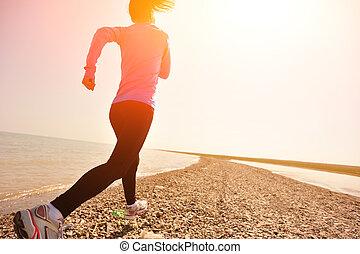 corredor, Atleta, running, ,