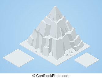 isometric iceberg