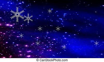 luces, estrella, navidad, Plano de fondo