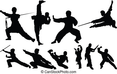 kungfu fight positions