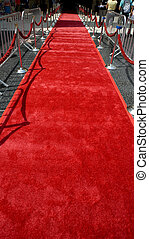 The Red Carpet - The red carpet rolled out for the arrival...